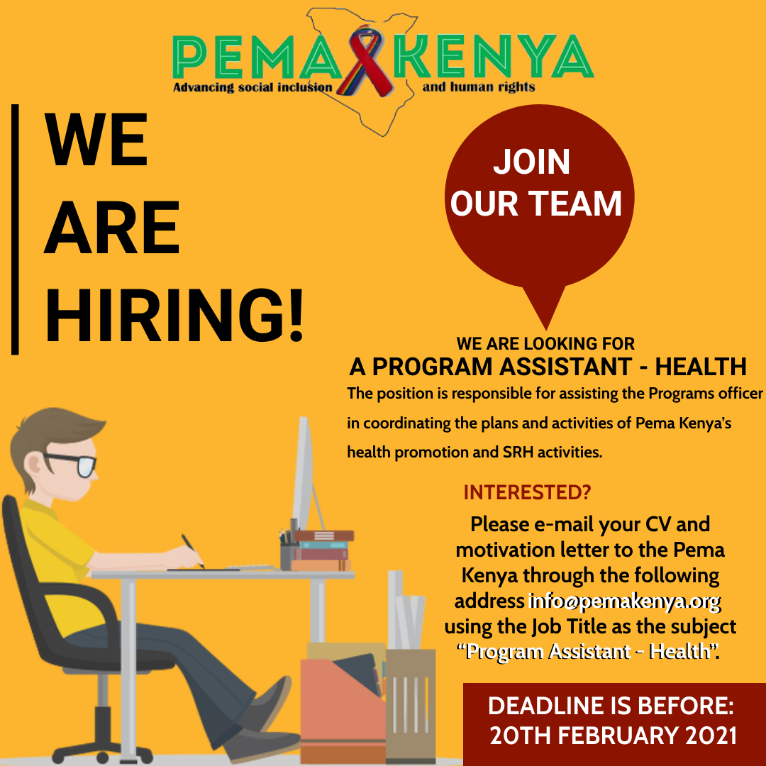 PROGRAM ASSISTANT – HEALTH PROMOTION